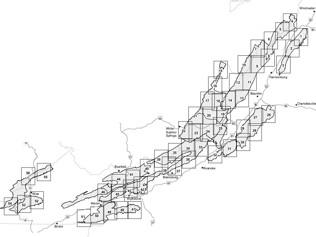 Maps  JamesDowning39s TrailBlazer